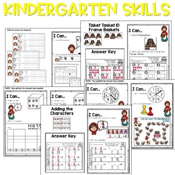 Little Red Riding Hood | Literacy Centers and Math Centers 3