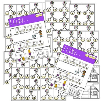 Math Games: Numbers, Number Bonds, and Fact Families | May (editable) 4