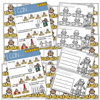 Math Games: Numbers, Number Bonds, and Fact Families | November (editable) 4
