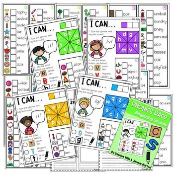 Phonics Race Games for Kindergarten 2