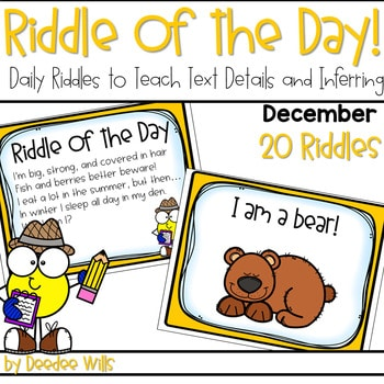 Riddle of the Day | December 1