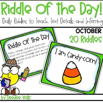 Riddle of the Day | October 1