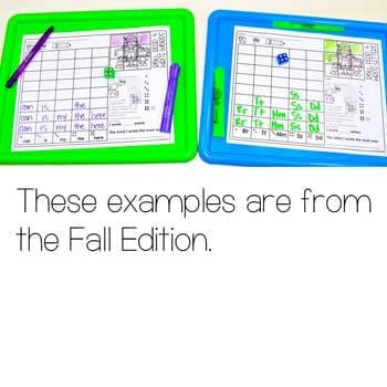 Roll and Write: Editable Worksheets | Christmas 3