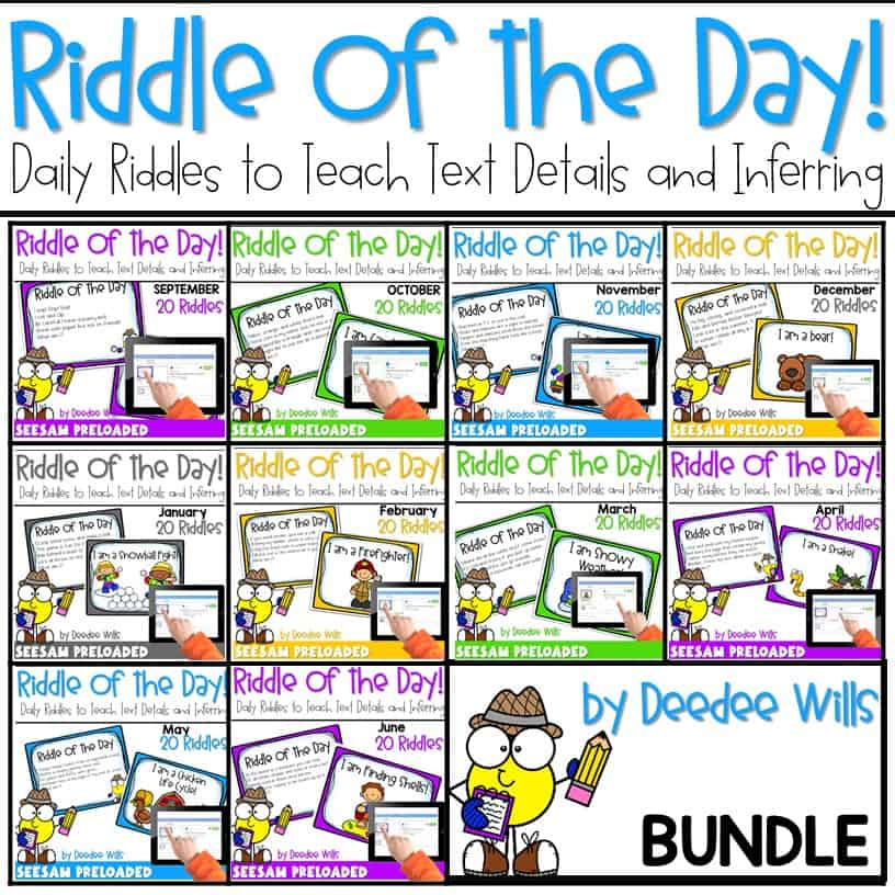 Riddle of the Day | BUNDLE 8