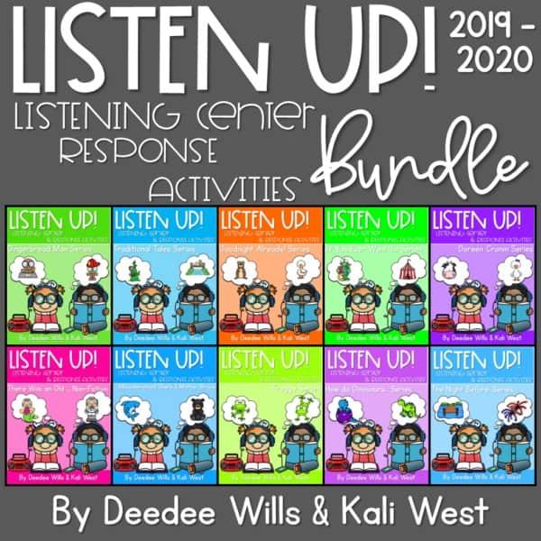Listening Center: Listen UP! 2019-2020 K and 1st Year-long SET 1