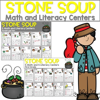 Stone Soup | Literacy Centers and Math Centers 1