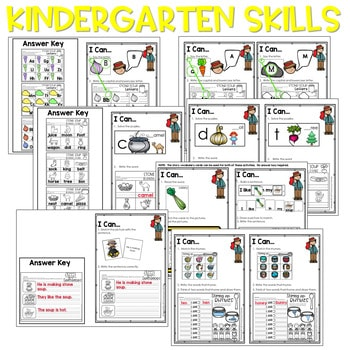 Stone Soup | Literacy Centers and Math Centers 2