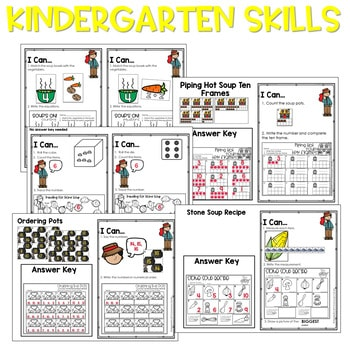 Stone Soup | Literacy Centers and Math Centers 3