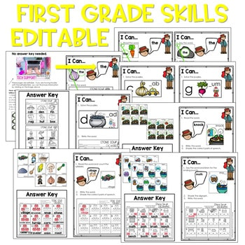 Stone Soup | Literacy Centers and Math Centers 4