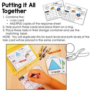 Task Cards for Kindergarten   Math 3