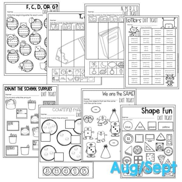 Computer Center Bundle for Kindergarten 4
