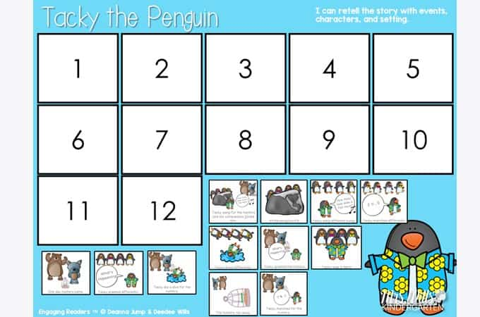 Tacky the Penguin Activities and Lesson Plans (Free File too) 1