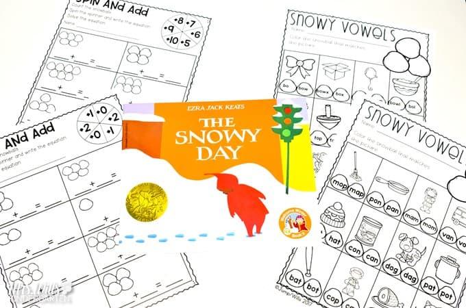 Free Winter Math Activity for Kindergarten