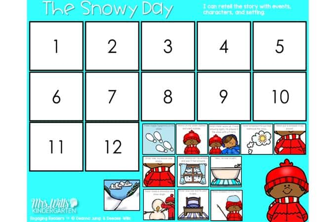 7 Fun The Snowy Day Activities For Kindergarten And Lesson Plans