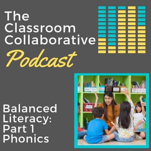 The Classroom Collaborative Teacher Podcast: What is Balanced Literacy? Part 1 - Phonics 13