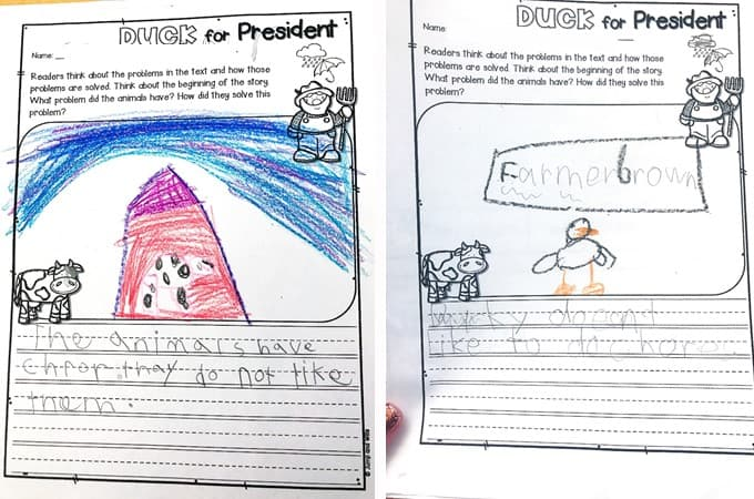 5 Duck For President Activities Plus a Free Activity 2