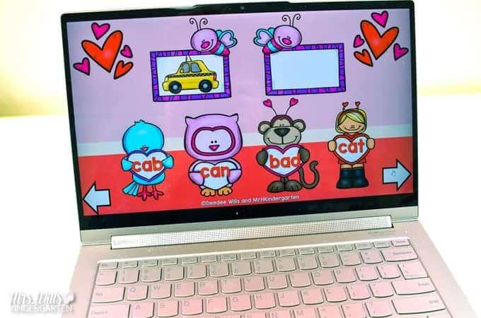 Valentines Day centers for Kindergarten