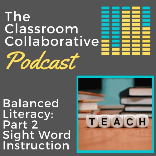 Teacher Podcast sight words