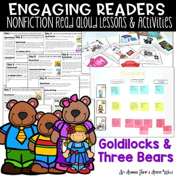 ER Goldilocks and the Three Bears Unit of Study 1