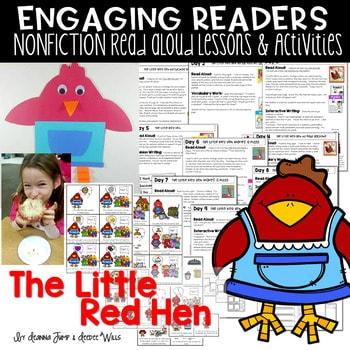 ER Little Red Hen Unit of Study 1