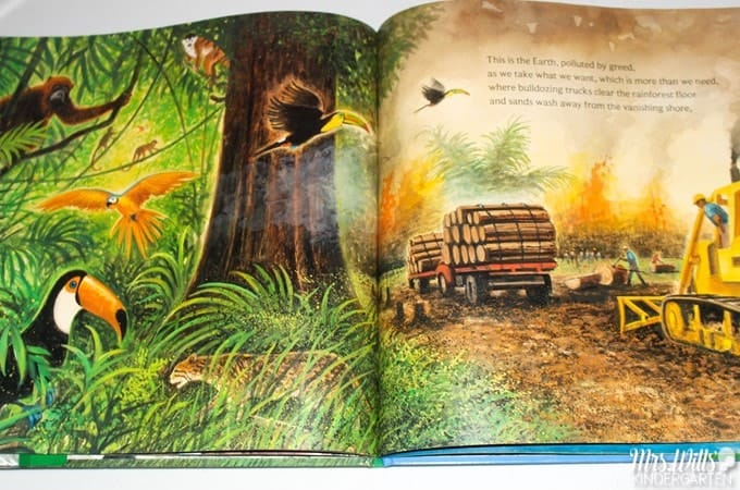 A list of 17 books to celebrate Earth Day. These children's books are sweet stories to teach kids about the importance of taking care of our Earth.