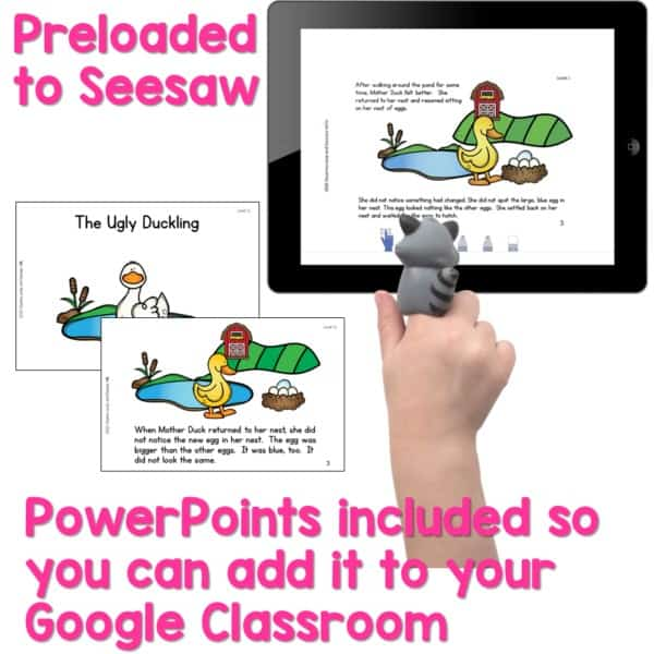 SEESAW Preloaded | Guided Reading Traditional Tale Bundle 3