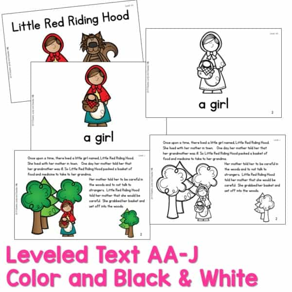 SEESAW Preloaded | Guided Reading Traditional Tale Bundle 5