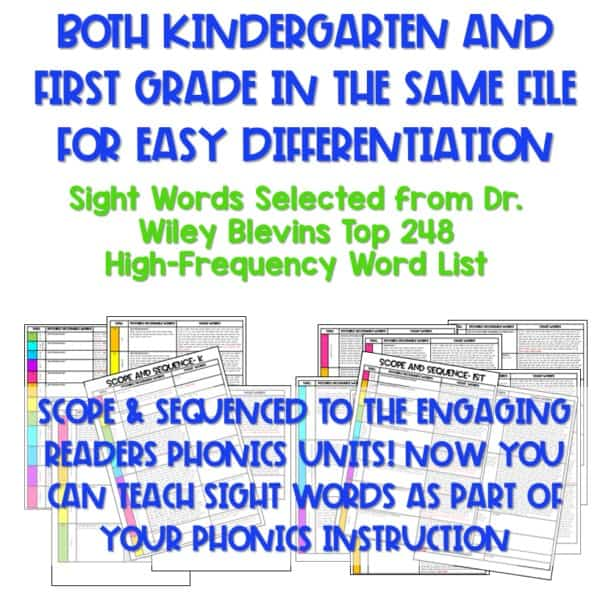 Not Your Mother's Sight Words (and Decodable Readers) 4