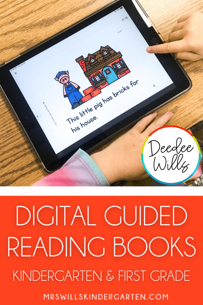Digital guided reading books for your favorite traditional tales. Guided reading levels AA-J with digital and printable options. Lesson plans and activities included!
