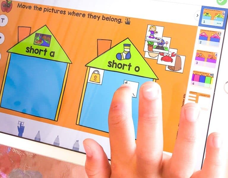 Digital phonics activities for the entire year! Focus and systematic instruction that aligns with the scope and sequence of our Engaging Readers units for K-1.