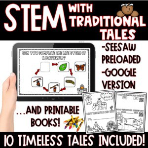 SEESAW 10 Week Math & Literacy Tasks for Distance Learning | First Grade 6