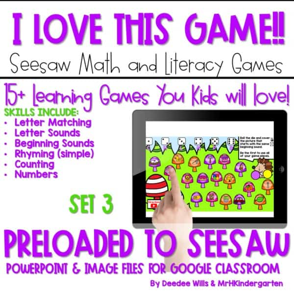 SEESAW Preloaded Math and Literacy Games 3 1