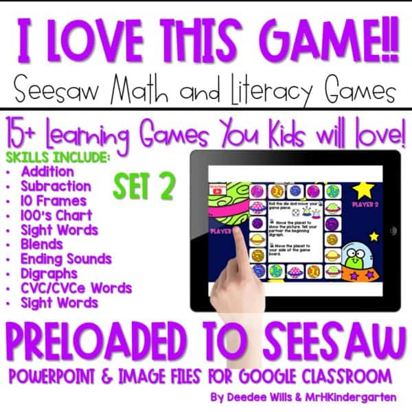 SEESAW Preloaded Math and Literacy Games 2 1