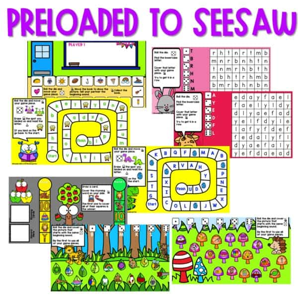 SEESAW Preloaded Math and Literacy Games 3 2