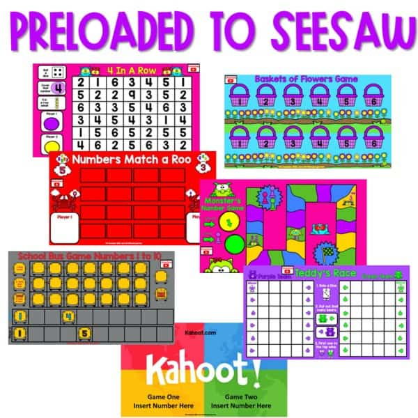 SEESAW Preloaded Math and Literacy Games 3 3