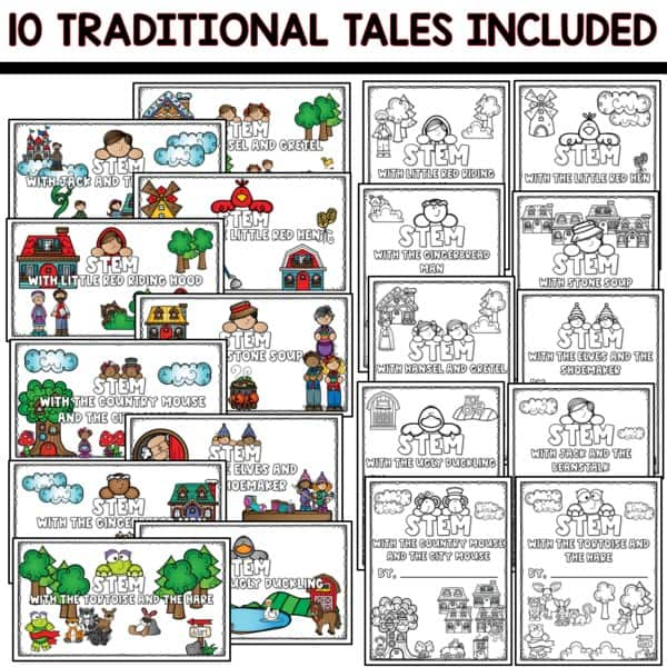 SEESAW Preloaded STEM Traditional Tales Activities 5