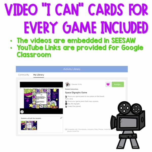 SEESAW Preloaded Math and Literacy Games 2 5
