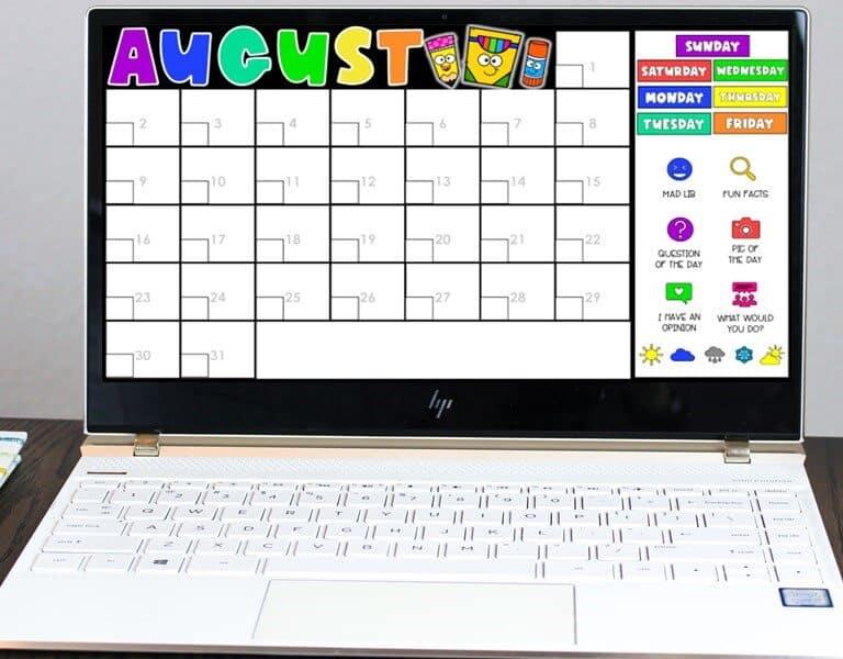 The Best Digital Morning Meeting Activities for Kindergarten & 1st Grade 1