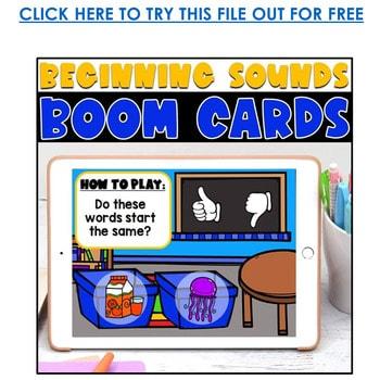 Boom Cards™ for Distance Learning | Kindergarten Growing Bundle 3