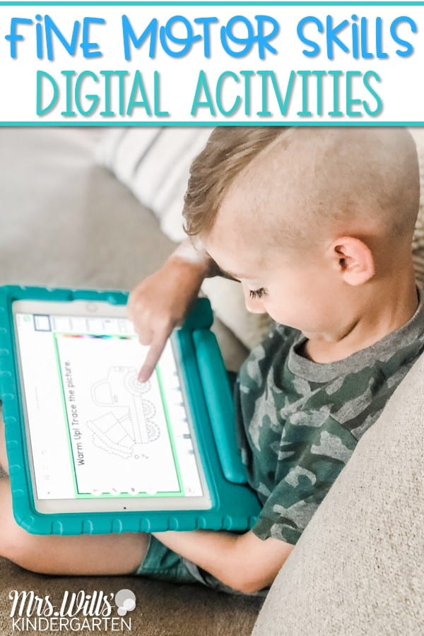 Fine motor skill activities to support learning in math and ELA. Seesaw preloaded activities that work great as an introduction to the Seesaw platform.