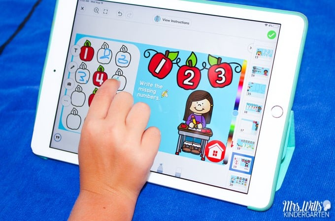 Themed digital activities for your math and literacy centers in kindergarten. Your students will love these daily tasks with fun themes and holidays!