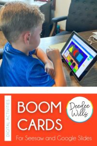 Boom Cards for Kindergarten are engaging and so much fun for students. Plus, these self- correcting activities are great for distance learning.