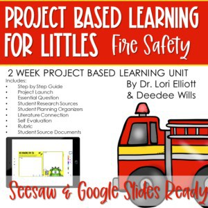 Project Based Learning for Littles: Fire Safety 5