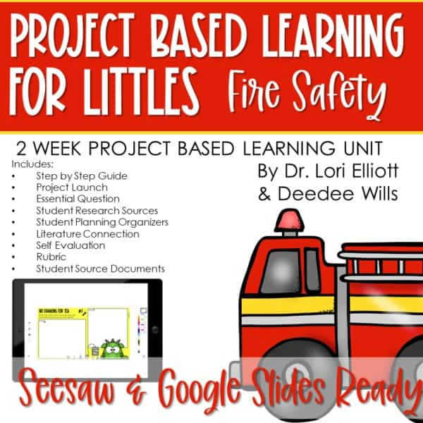Project Based Learning for Littles: Fire Safety 1