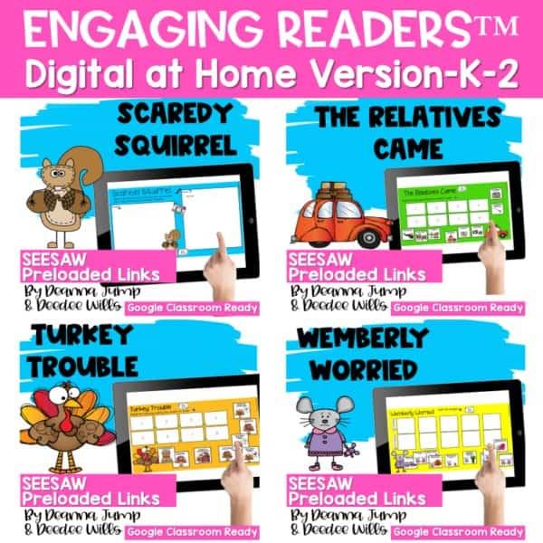 Seesaw Engaging Readers November 1