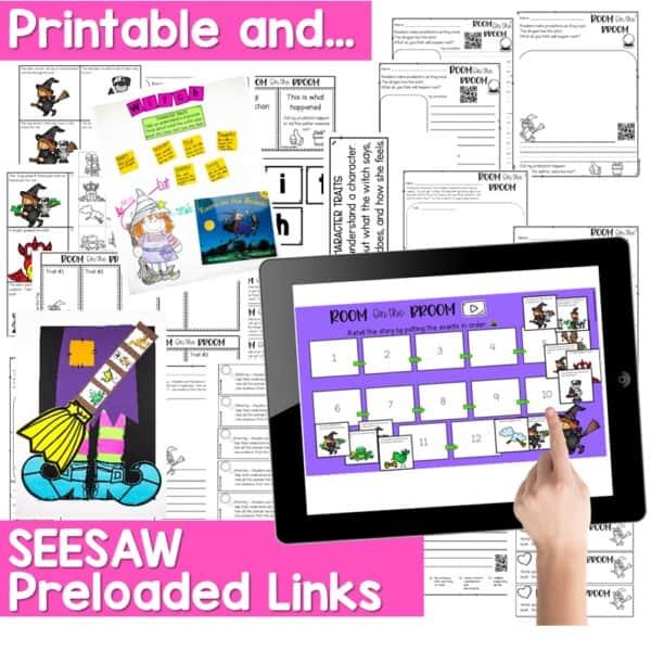 Seesaw Engaging Readers October 6