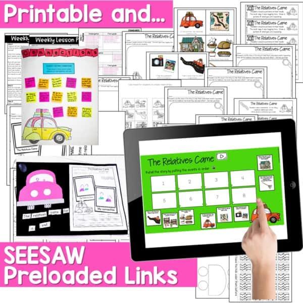 Seesaw Engaging Readers November 2