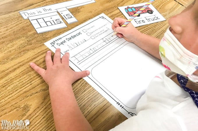 Students practice and develop literacy skills with these Fall literacy centers that are perfect for the Kindergarten classroom.
