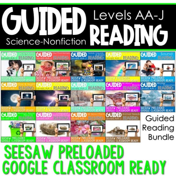 SEESAW Preloaded Guided Reading Nonfiction Bundle 1