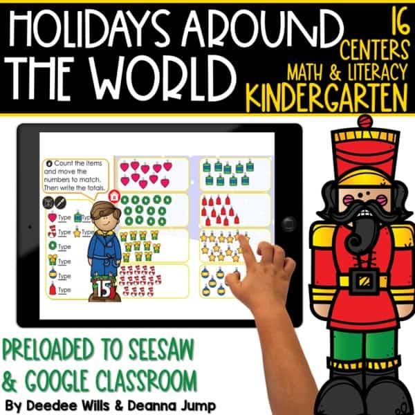 SEESAW Preloaded Holidays Around the World Centers   Kindergarten 1